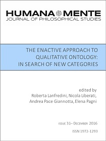 The Enactive Approach to Qualitative Ontology: In Search of New Categories