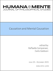 Causation and Mental Causation