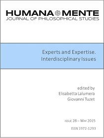 Experts and Expertise Interdisciplinary Issues