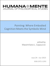 Pointing: Where Embodied Cognition Meets the Symbolic Mind