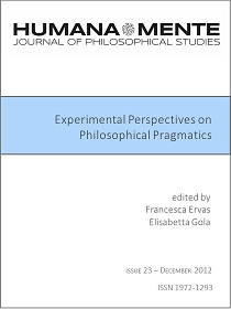 Experimental Perspectives on Philosophical Pragmatics