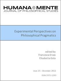 Experimental Perspectives on Philosophical Pragmatics