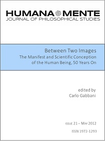 Between Two Images. The Manifest and Scientific Conception of the Human Being, 50 Years On