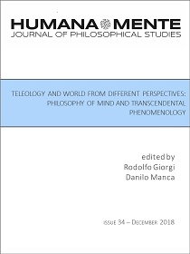 Teleology and World from Different Perspectives: Philosophy of Mind and Transcendental Phenomenology