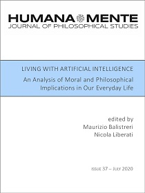 Living with Artificial Intelligence. An Analysis of Moral and Philosophical Implications in our Everyday Life