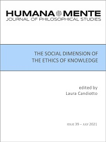 The Social Dimension of the Ethics of Knowledge, edited by Laura Candiotto